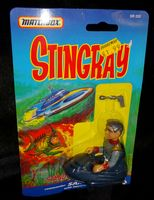 Stingray: Commander Sam Shore with Hover-Chair - Action Figure - Sealed on Card